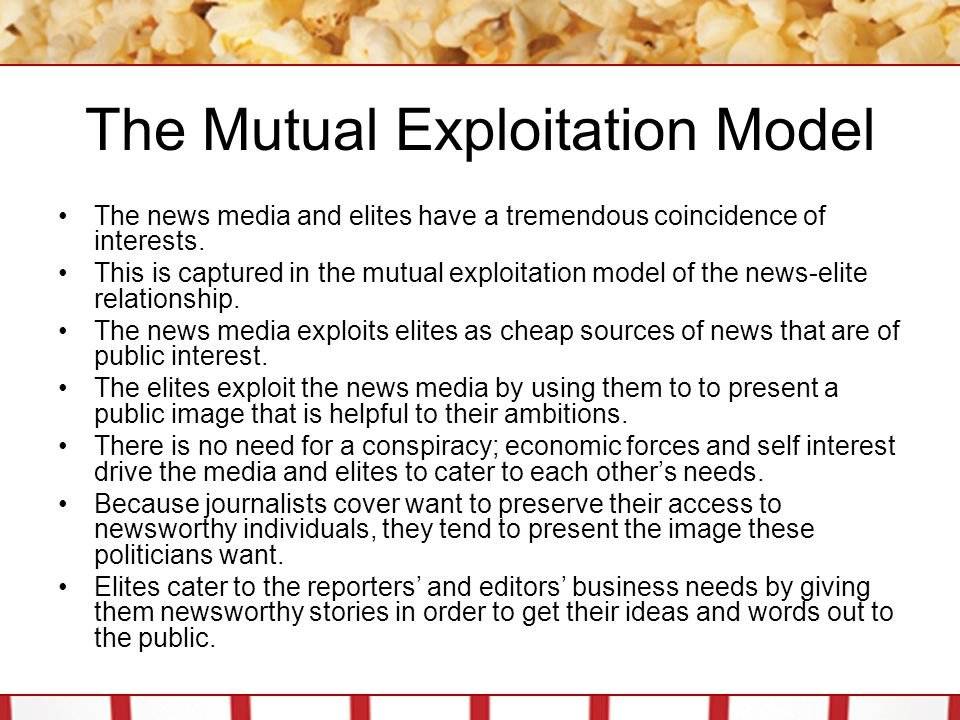 The Mutual Exploitation Model
