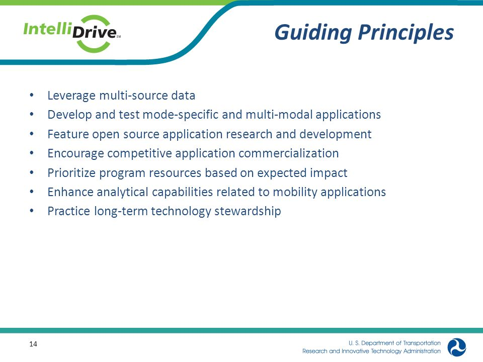 Guiding Principles Leverage multi-source data