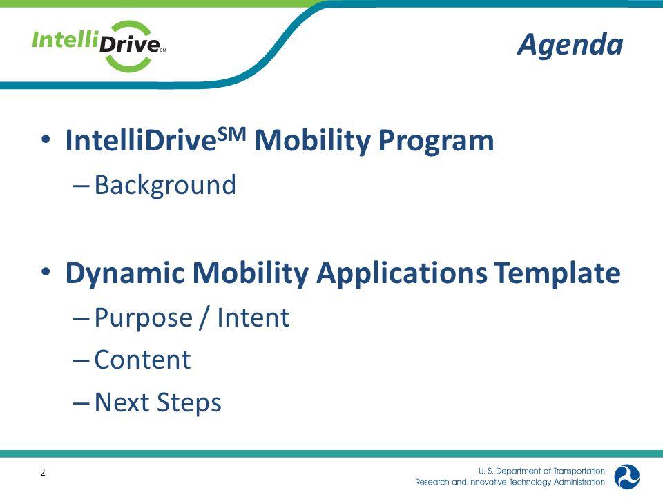 IntelliDriveSM Mobility Program