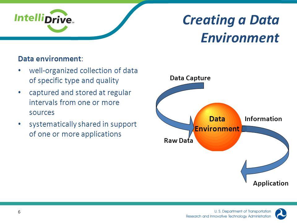Creating a Data Environment