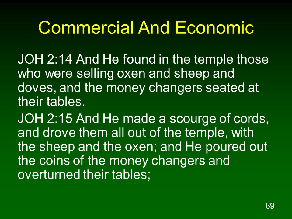 Commercial And Economic