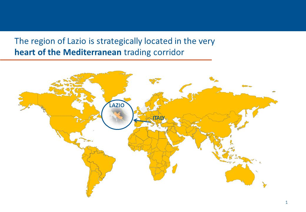 The Institutions The Region of Lazio is governed by: