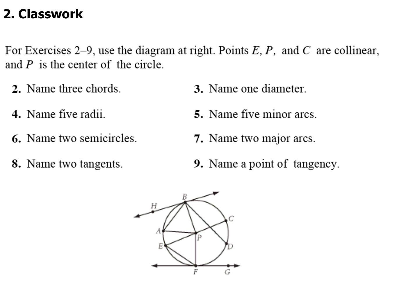 2. Classwork