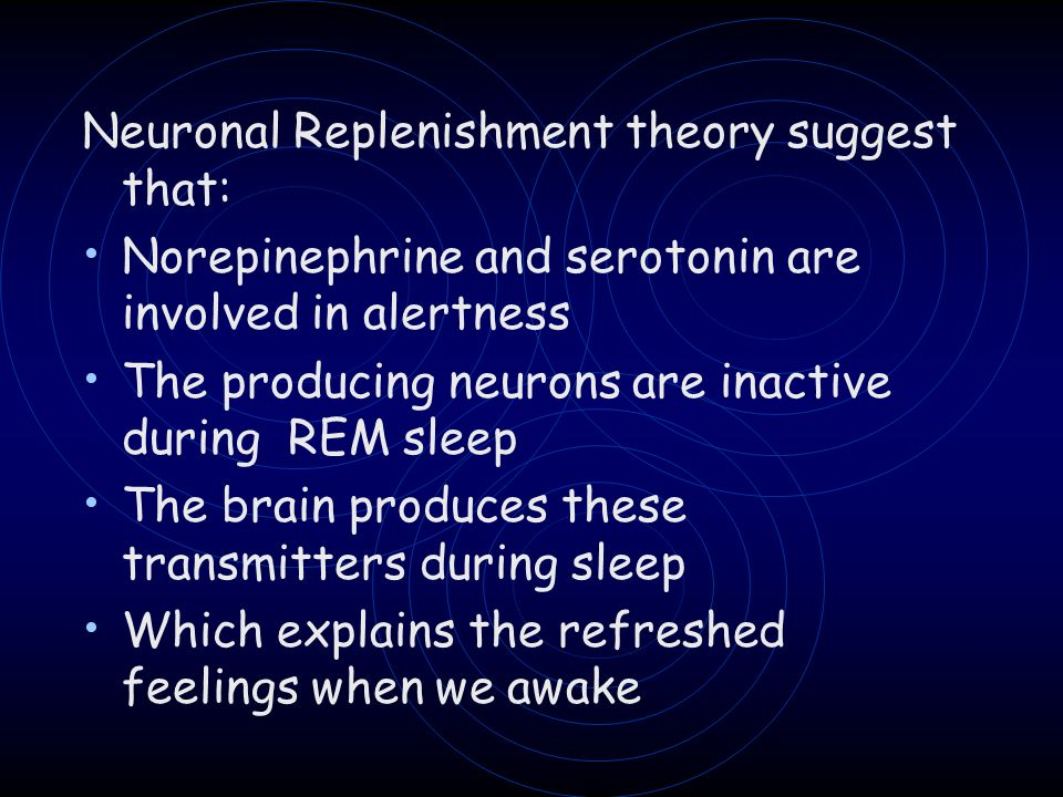 Neuronal Replenishment theory suggest that: