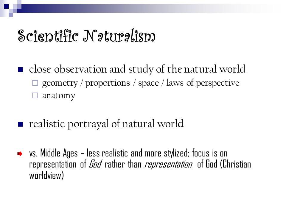 Scientific Naturalism