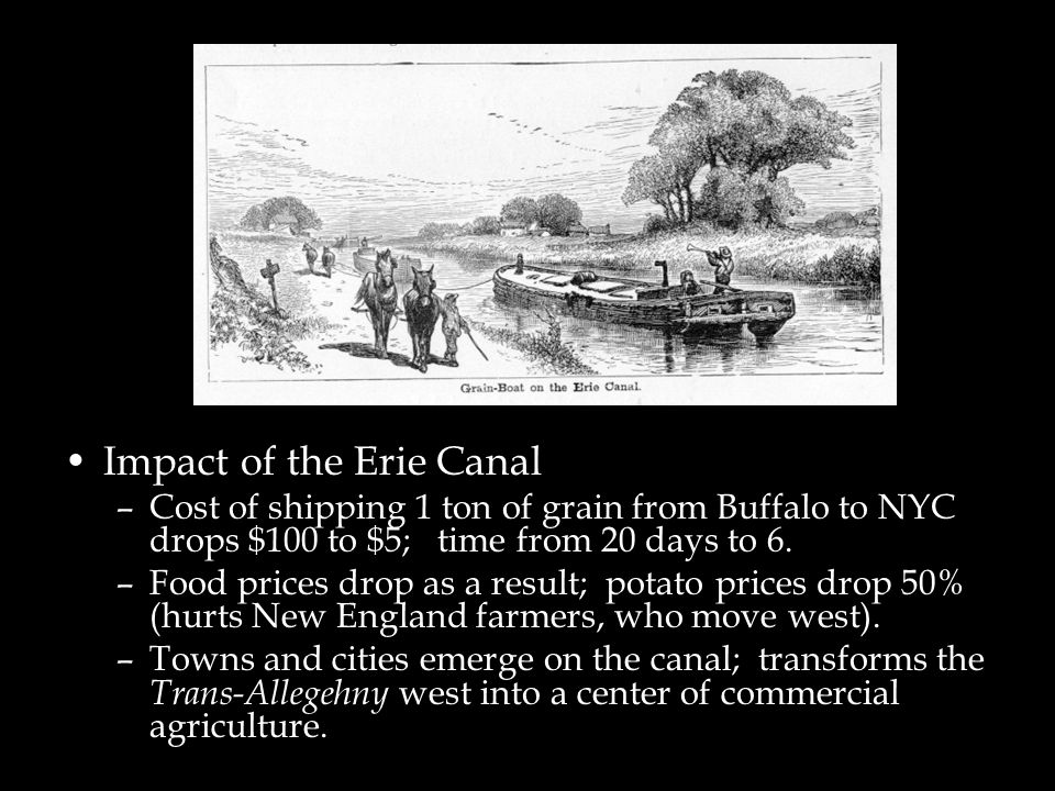 Impact of the Erie Canal