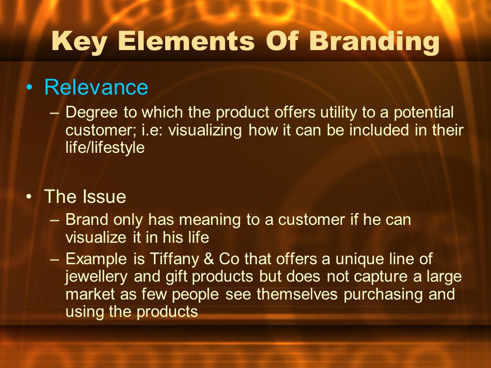 Key Elements Of Branding