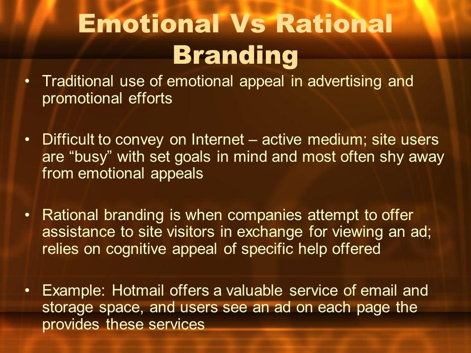Emotional Vs Rational Branding