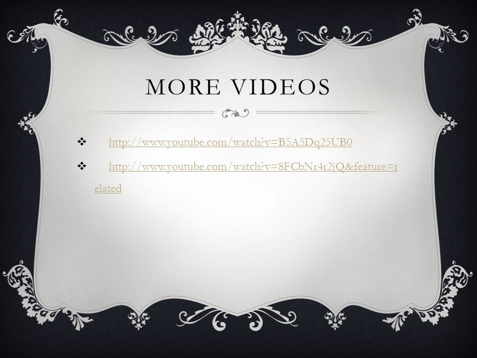 More videos http://www.youtube.com/watch v=B5A5Dq25UB0
