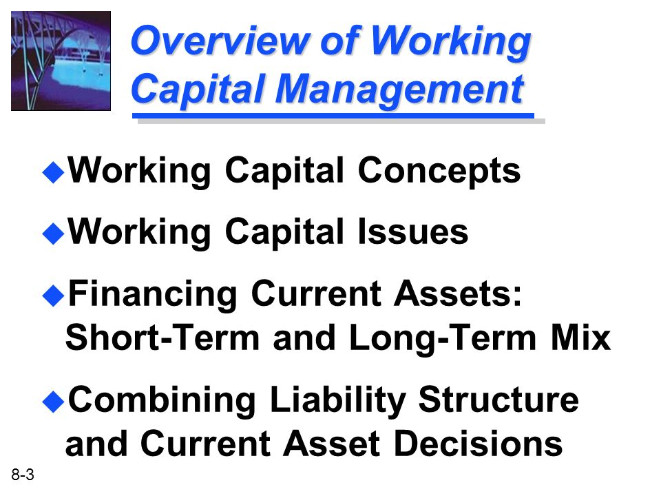 Overview of Working Capital Management