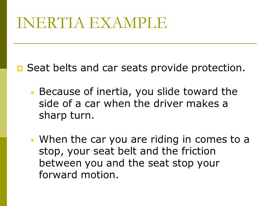 INERTIA EXAMPLE Chapter 11