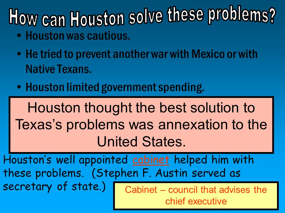 How can Houston solve these problems