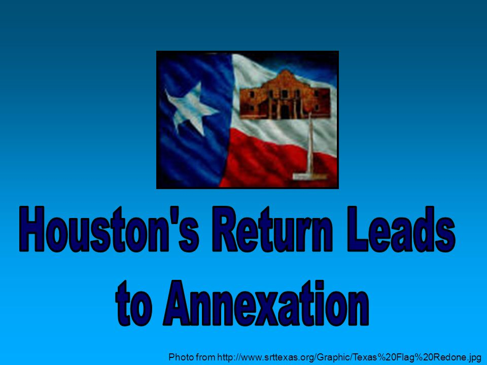 Houston s Return Leads to Annexation