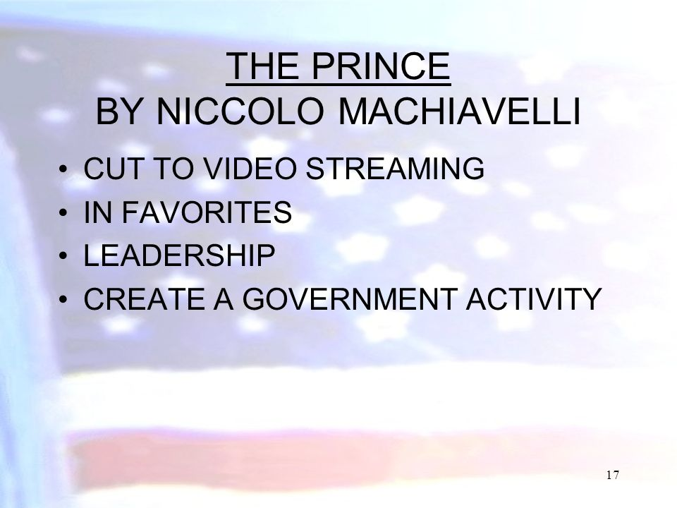 Machiavelli's The Prince: Themes & Analysis