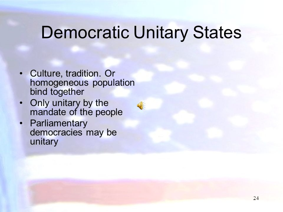 Democratic Unitary States