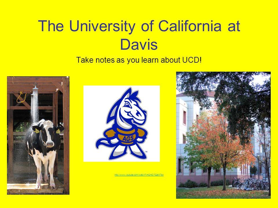 The University of California at Davis