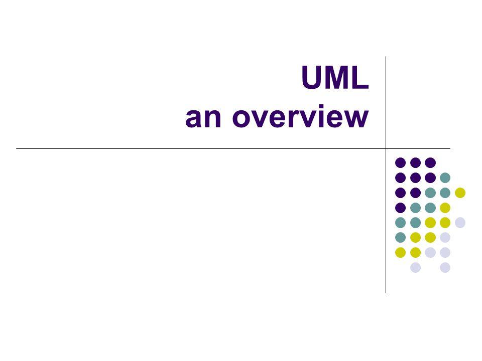 UML an overview