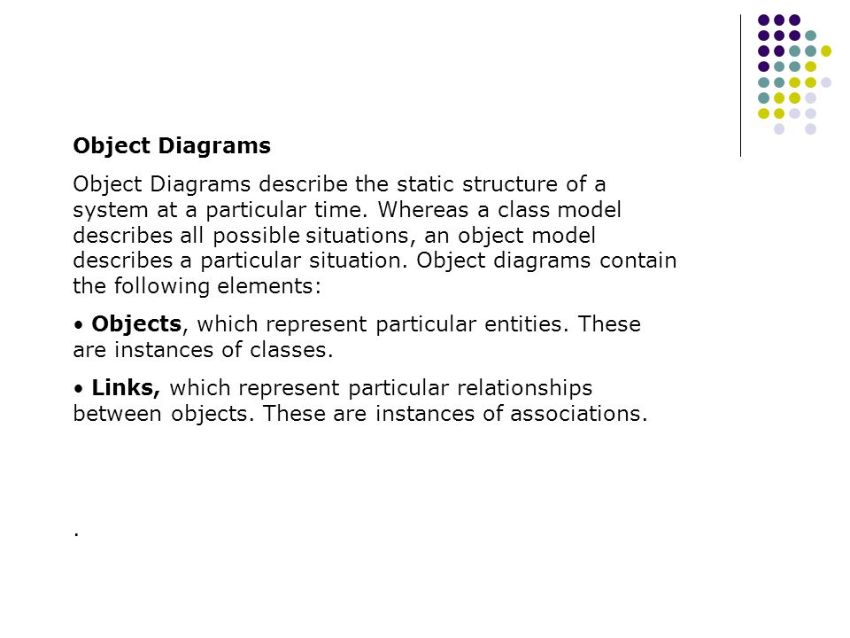 Object Diagrams