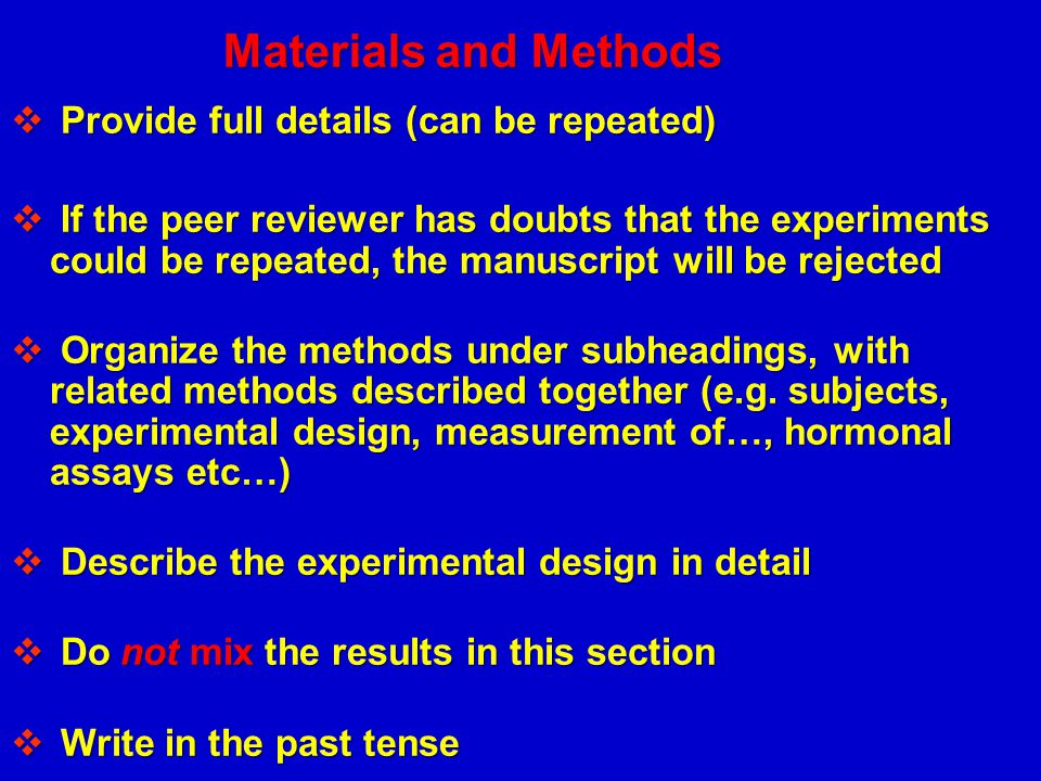 Materials and Methods Provide full details (can be repeated)