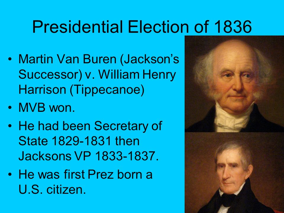 Presidential Election of 1836