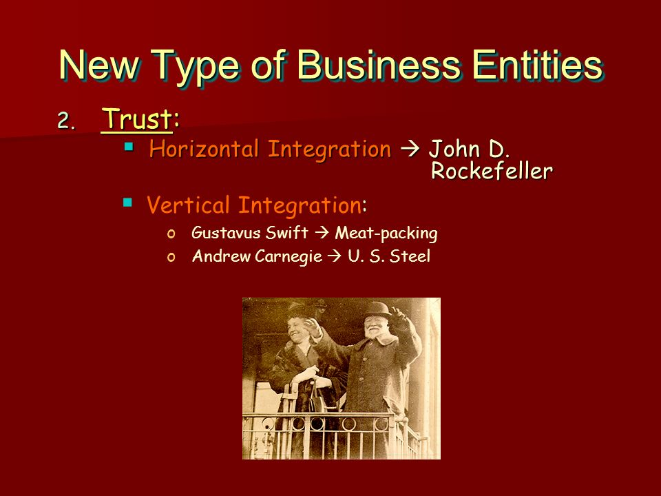 New Type of Business Entities