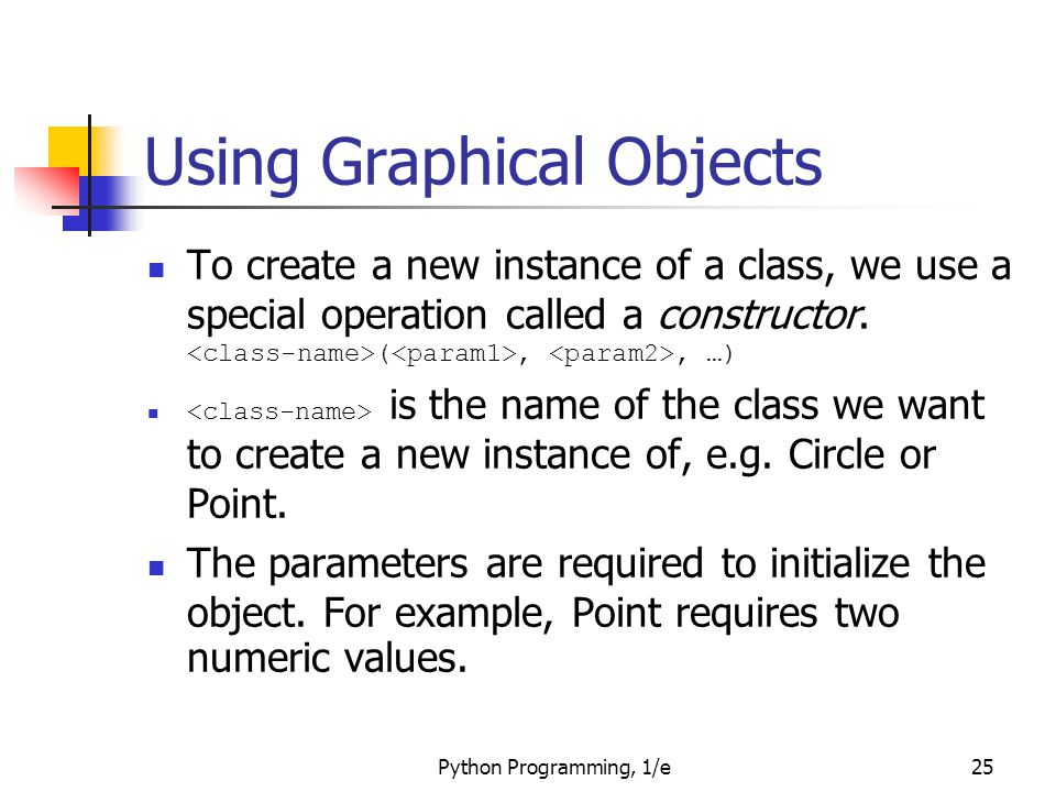 Using Graphical Objects