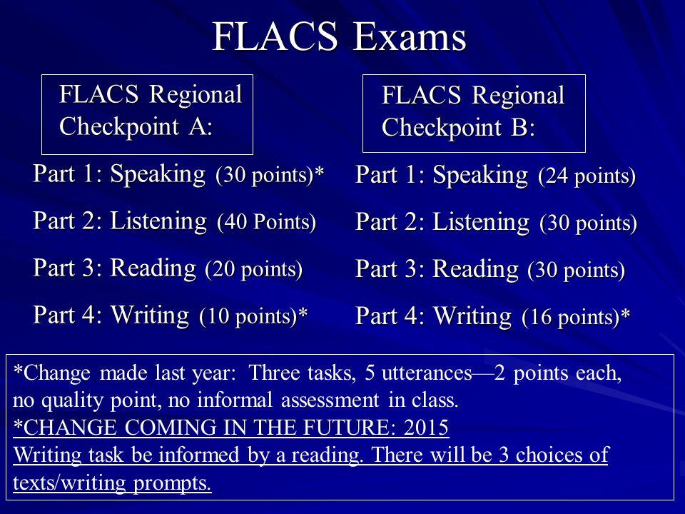 FLACS Exams