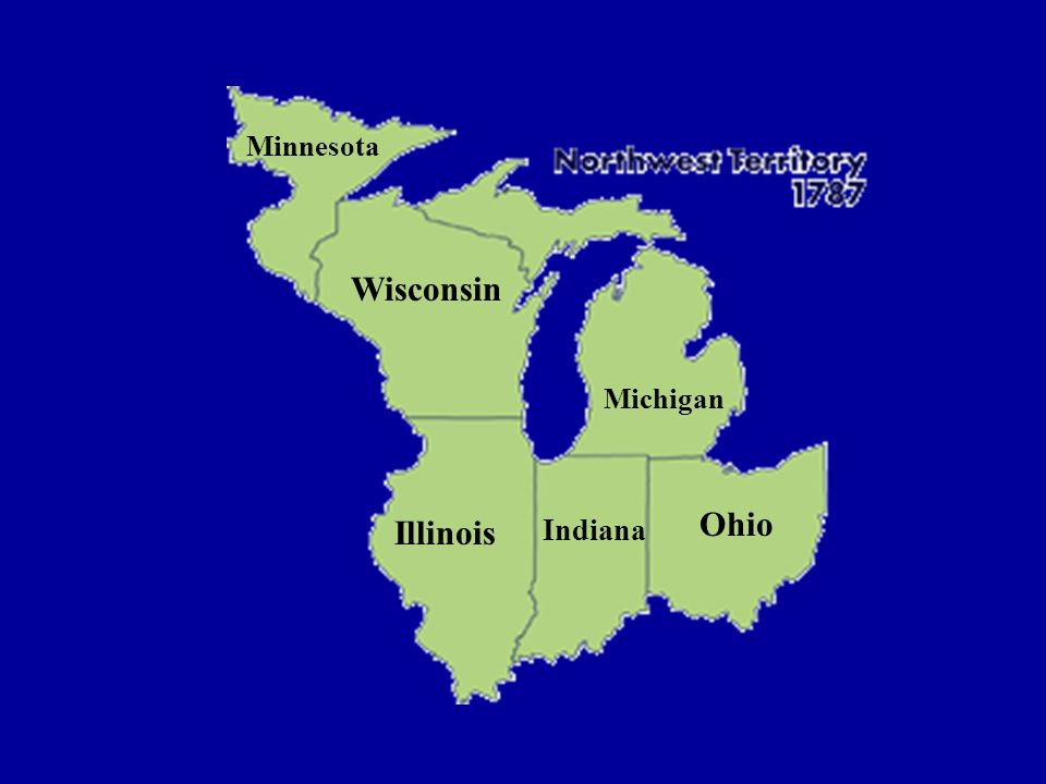 Minnesota Wisconsin Michigan Ohio Illinois Indiana
