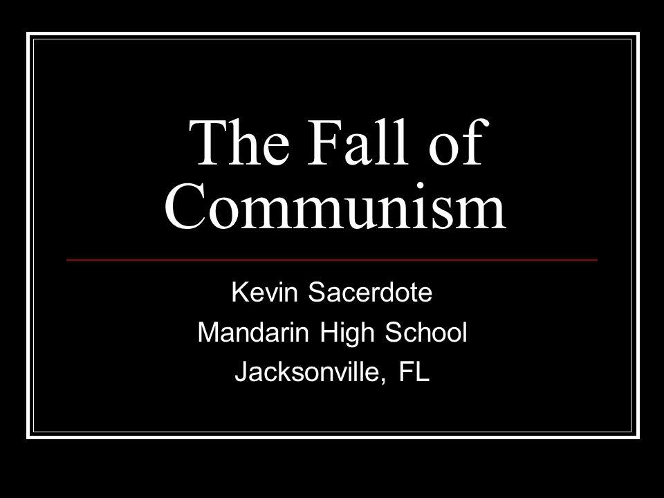 Kevin Sacerdote Mandarin High School Jacksonville, FL