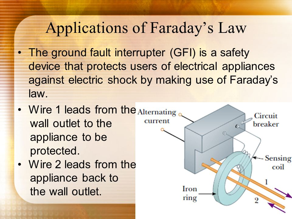 Applications of Faraday's Law