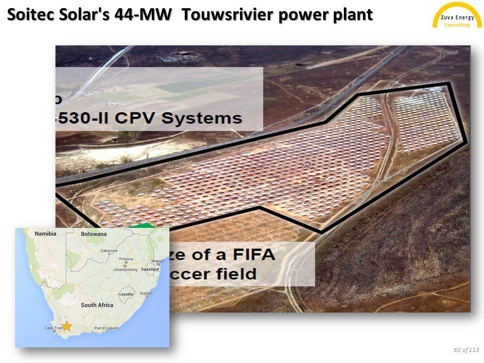 Soitec Solar s 44-MW Touwsrivier power plant