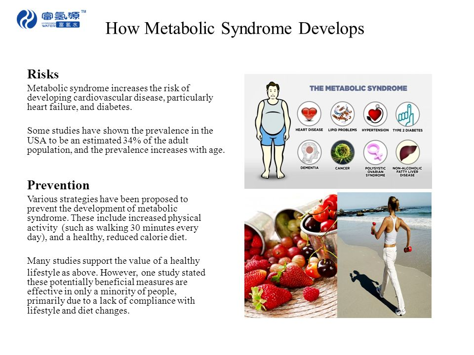 How Metabolic Syndrome Develops