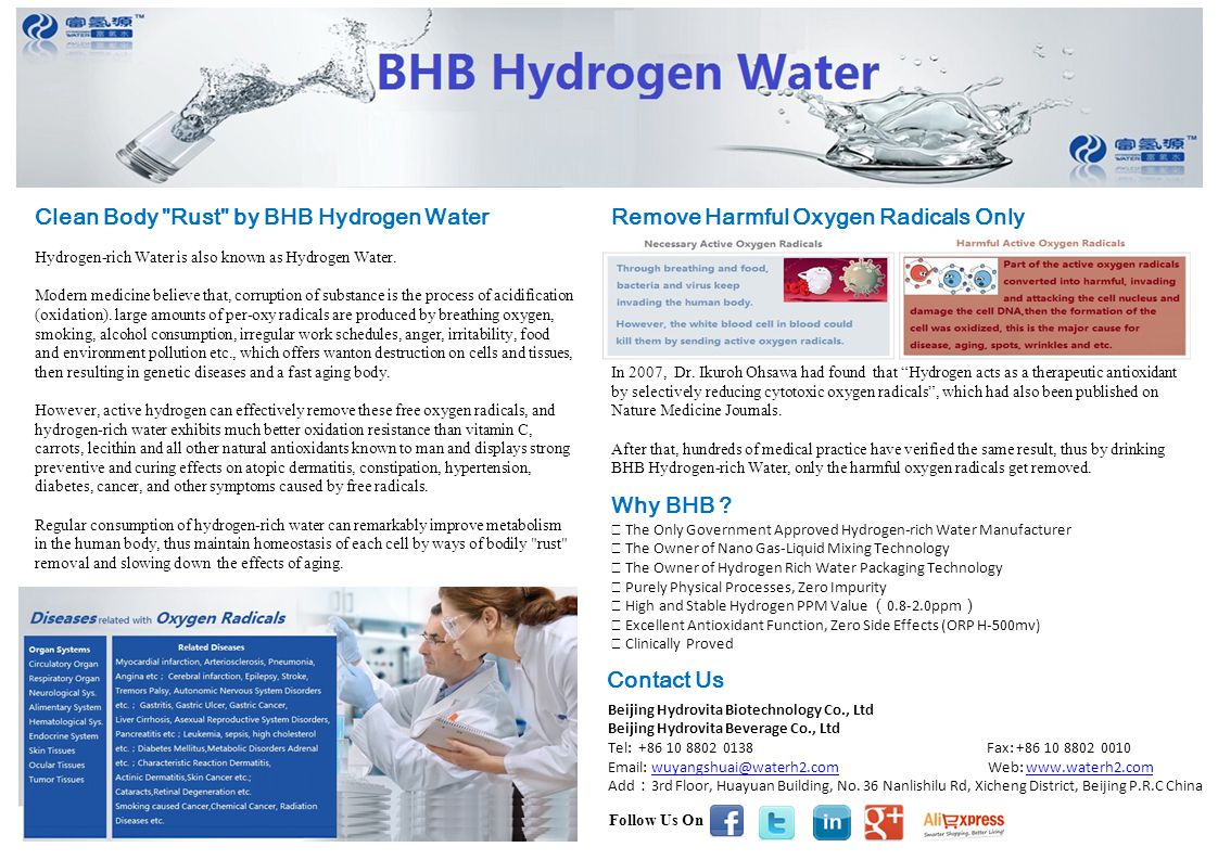 Clean Body Rust by BHB Hydrogen Water