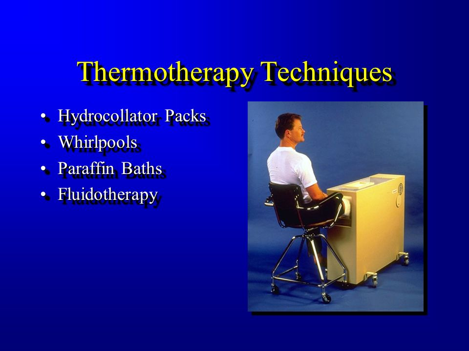 Thermotherapy Techniques