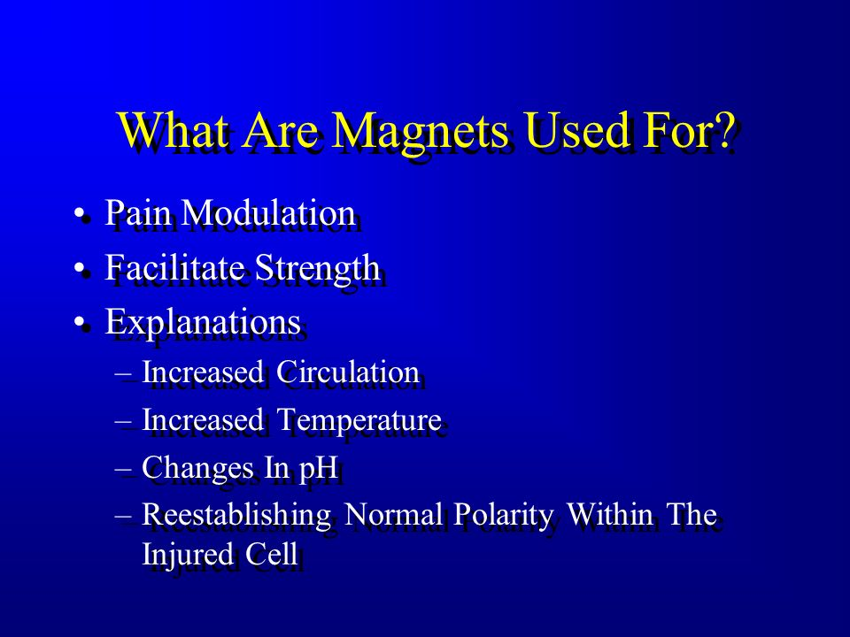 What Are Magnets Used For
