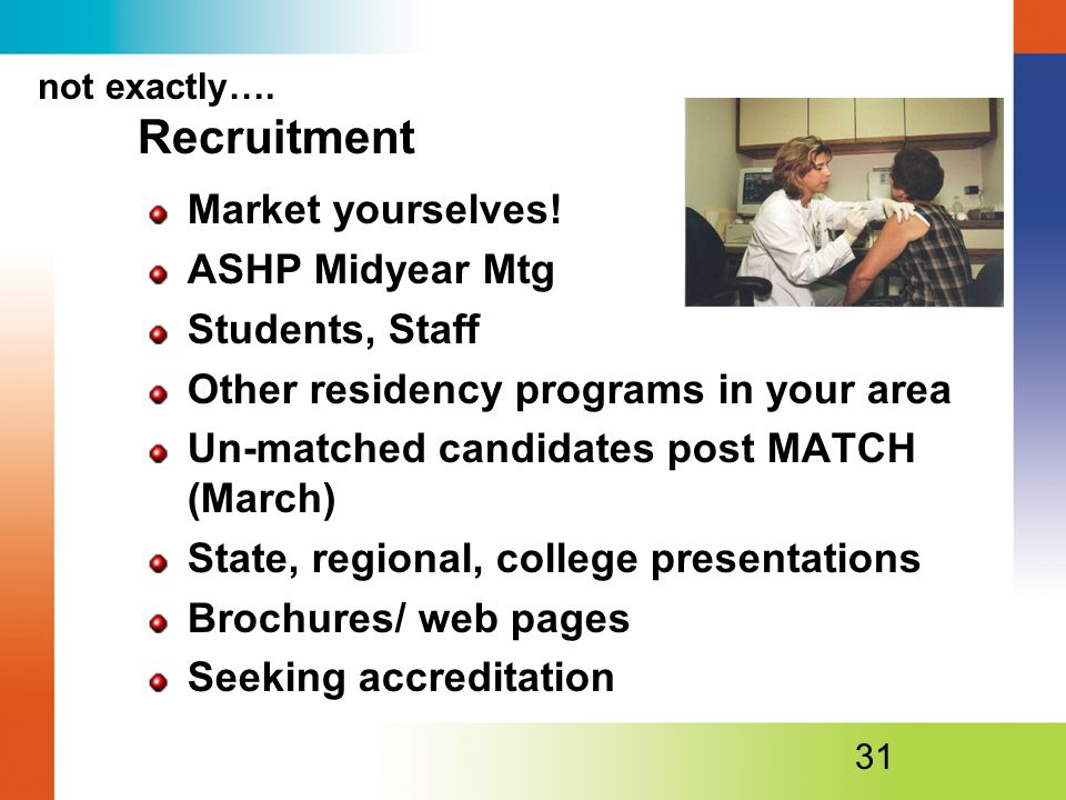 not exactly…. Recruitment