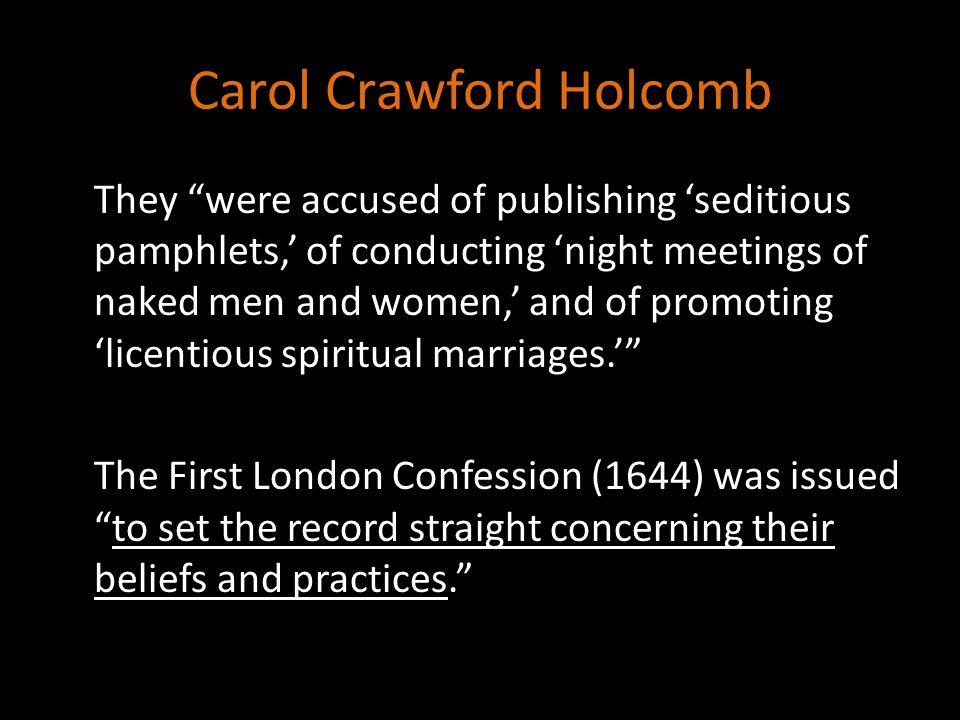 Carol Crawford Holcomb