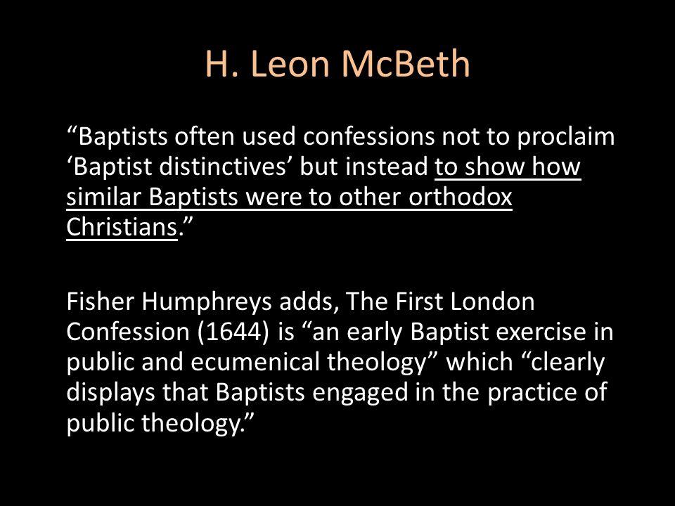 H. Leon McBeth