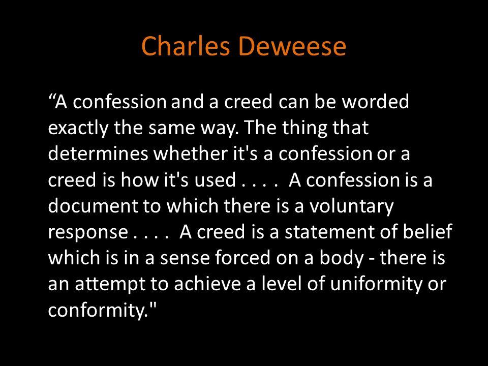 Charles Deweese