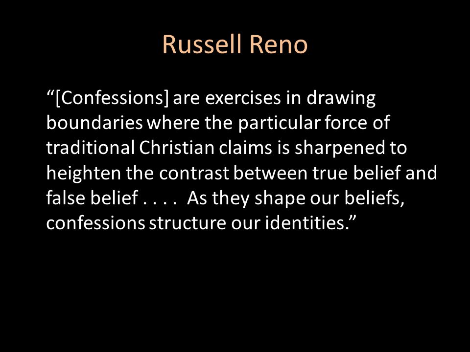 Russell Reno