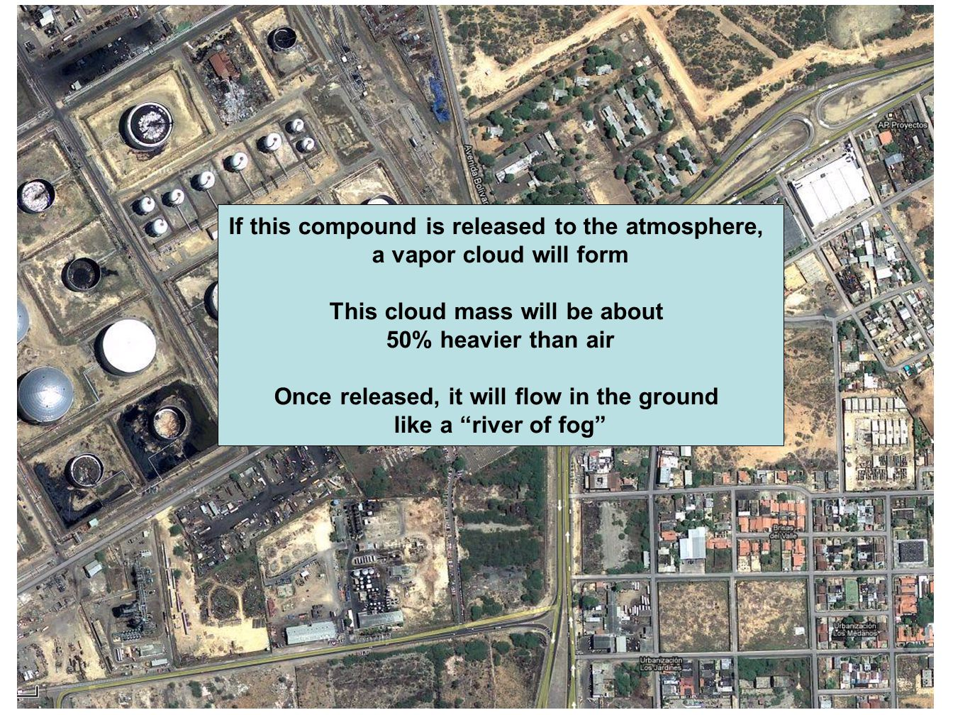 If this compound is released to the atmosphere,