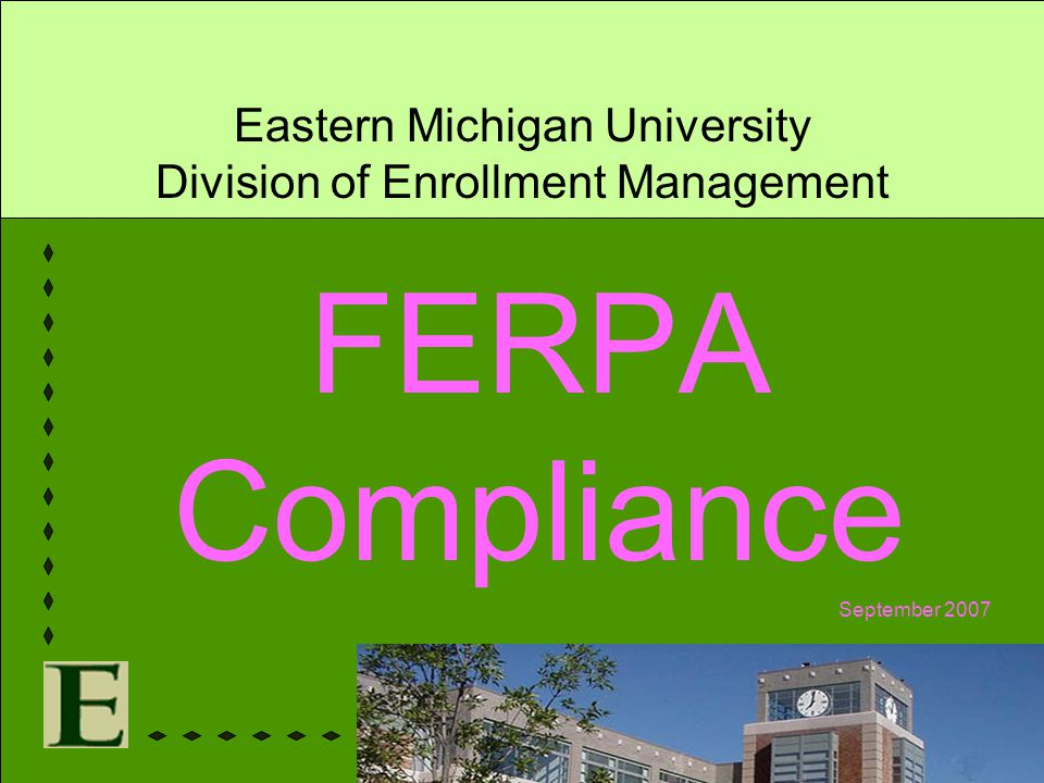 Eastern Michigan University Division of Enrollment Management