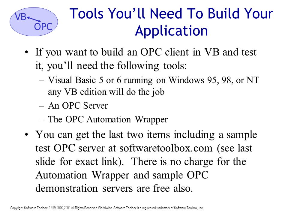Tools You'll Need To Build Your Application