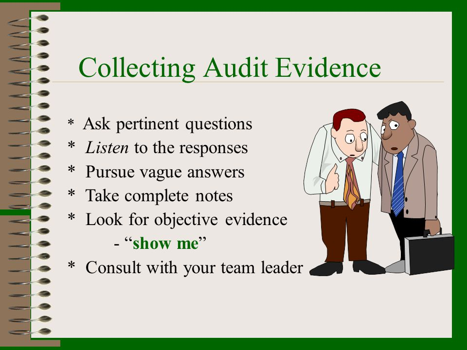 Collecting Audit Evidence