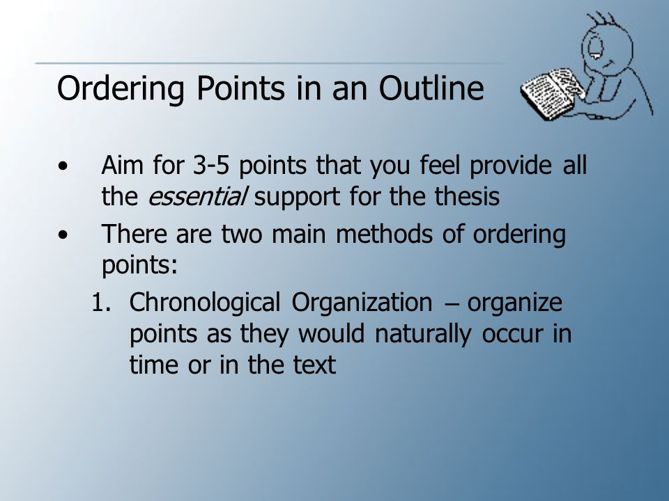 Ordering Points in an Outline