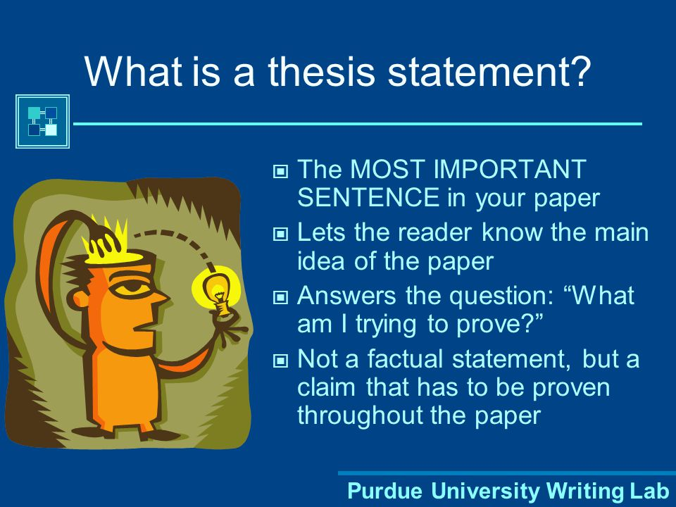 well-defined thesis statement A decently-structured template for writing a well-structured a well-defined thesis statement is nothing more than an insightful and original declaration or.
