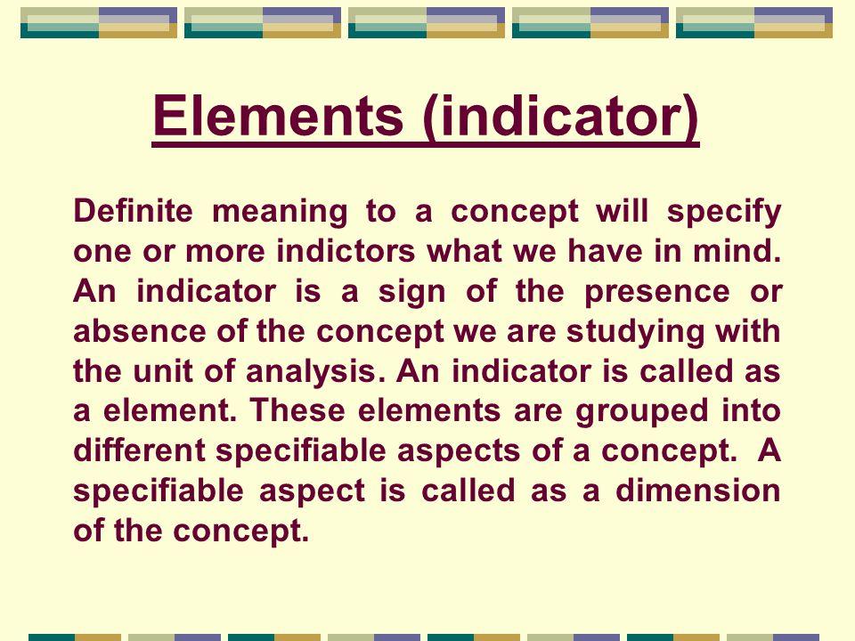 Elements (indicator)