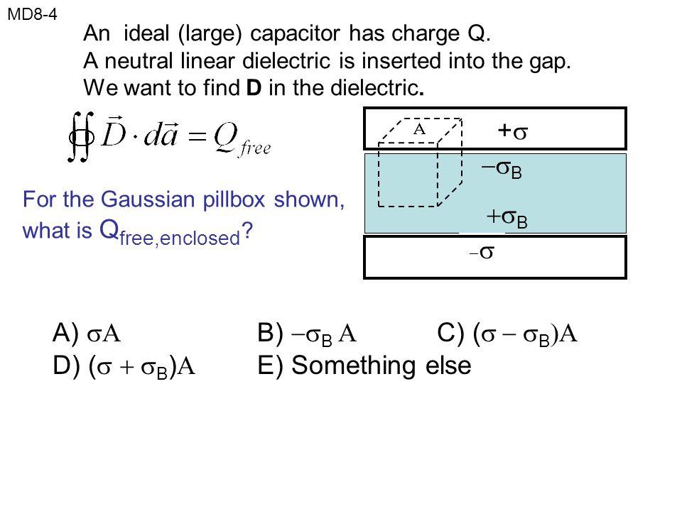 A)  B) B  C) (  B)A D) ( B) E) Something else