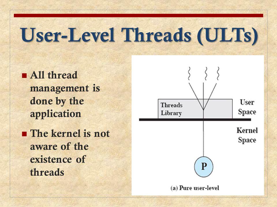 User-Level Threads (ULTs)