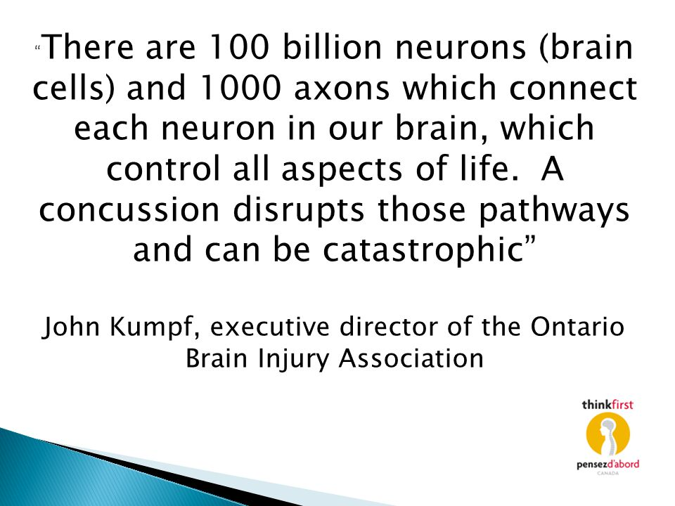 John Kumpf, executive director of the Ontario Brain Injury Association